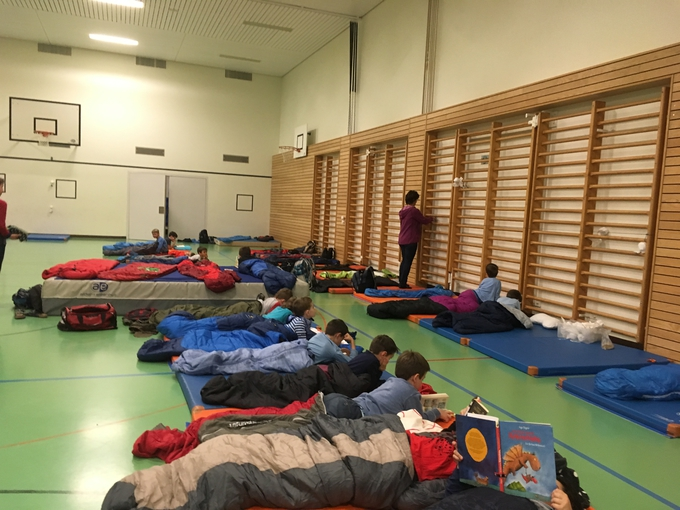 Lesenacht Primarschule Risi Wattwil