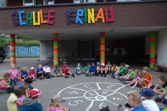 Schule Krinau Sporttag