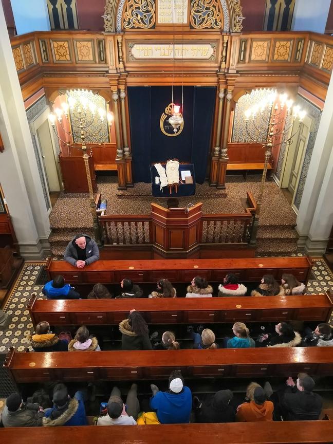 Besuch in der Synagoge St. Gallen