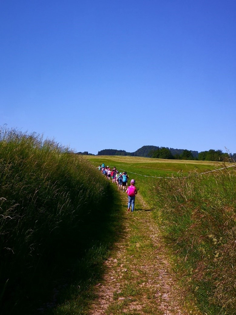 Kindergartenreise zum Dietfurtbach